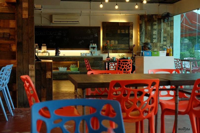 Tempat sarapan di Super 8 Hotel Penang