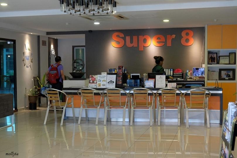 Lobby Super 8 Hotel Georgetown Penang