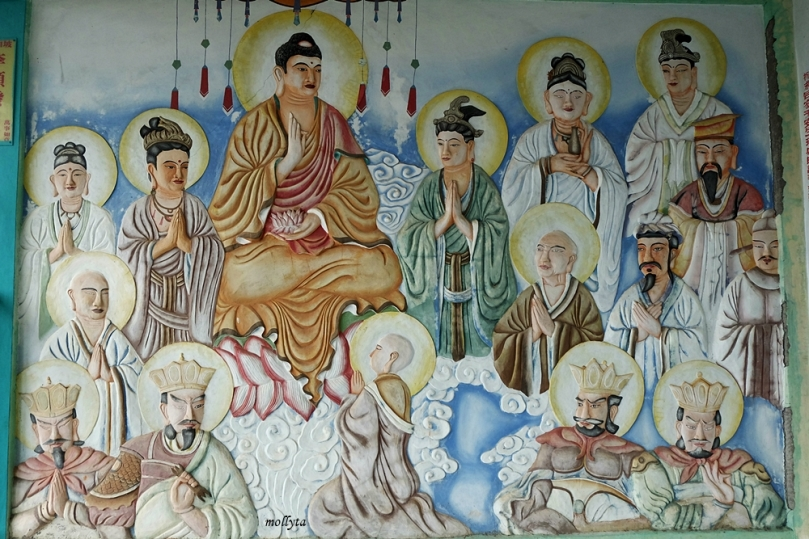 di Pagoda Quan Am Tu pulau Galang