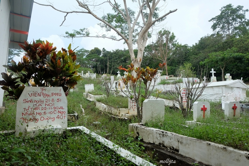 Makam di pulau Galang
