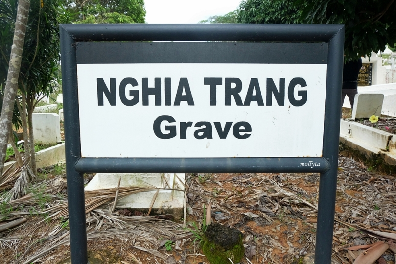 Nghia Trang Grave di pulau Galang