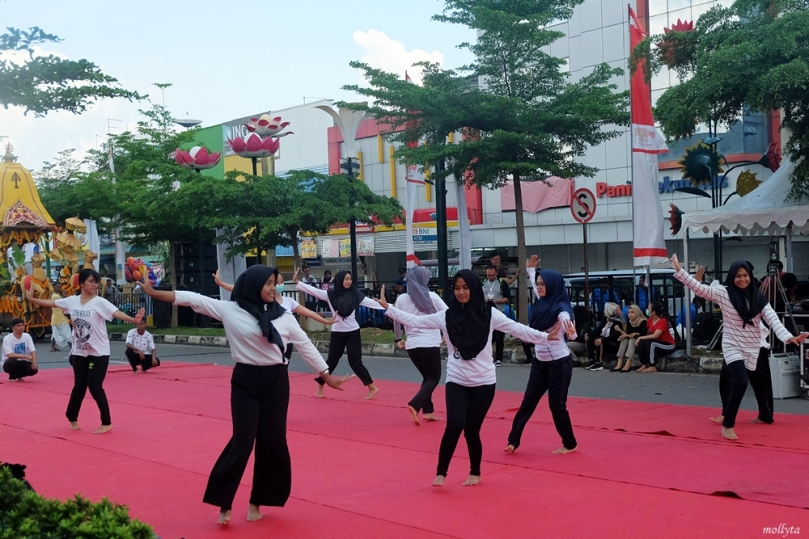 Gladi bersih Batam International Culture Carnival 2018