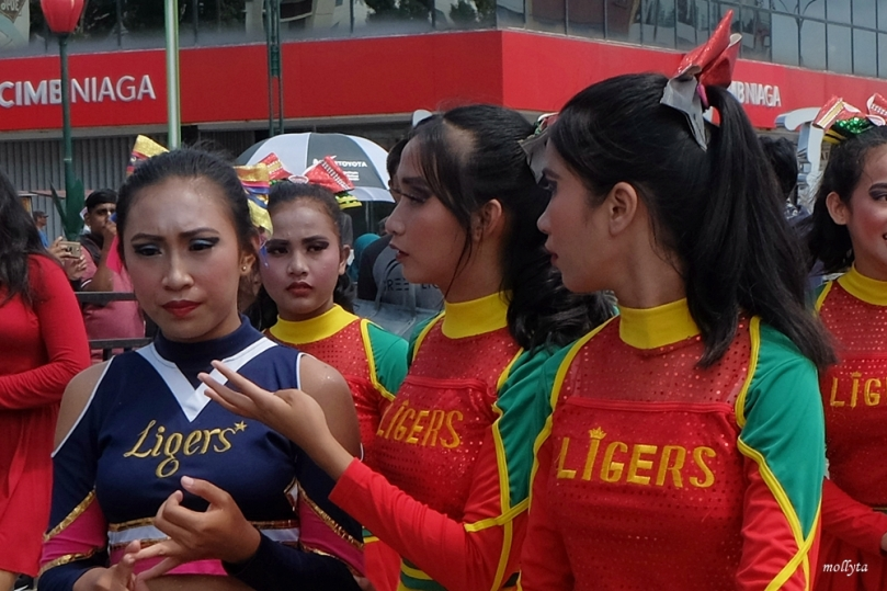 Cheerleaders Batam International Culture Carnival 2018