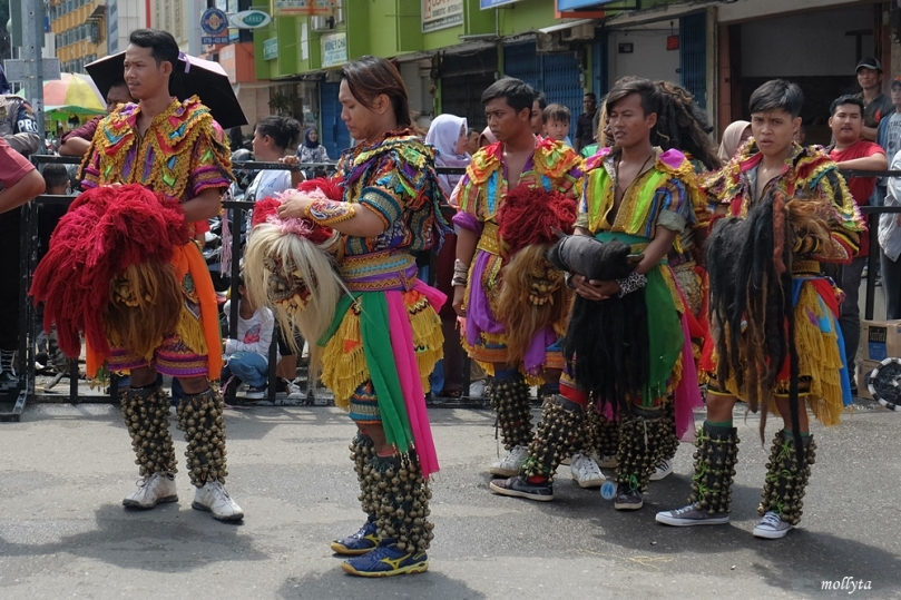 Atraksi kesenian 3 Batam International Culture Carnival 2018