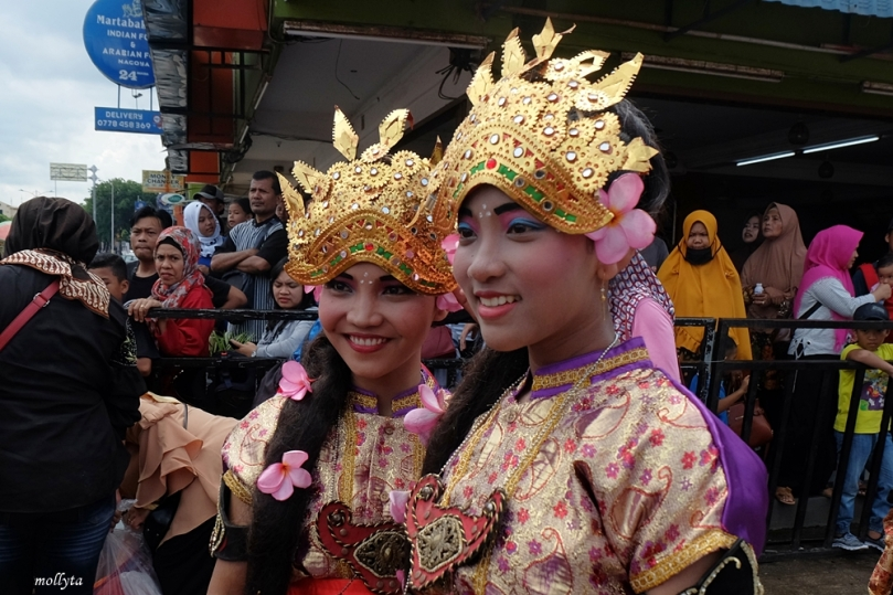 Peserta Batam International Culture Carnival 2018