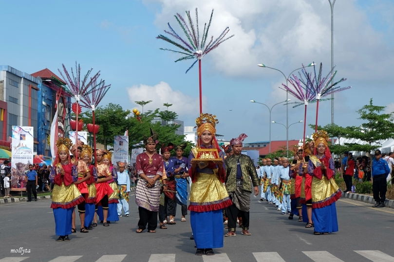 Parade 2 Batam International Culture Carnival 2018
