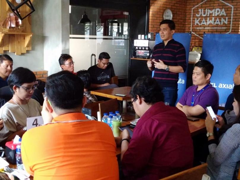 XL Axiata temu rekan media di Medan