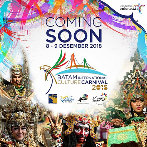 Batam International Culture Carnival 2018