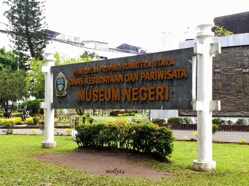 Bagian depan Museum Negeri Provinsi Sumatera Utara