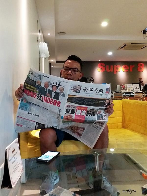 Bersantai di Super 8 Hotel Penang