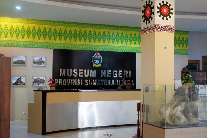 Sisi dalam Museum Negeri Provinsi Sumatera Utara