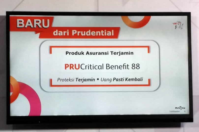 PRUCritical Benefit 88 dari Prudential Indonesia