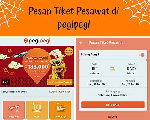 Pesan tiket pesawat di PegiPegi.com