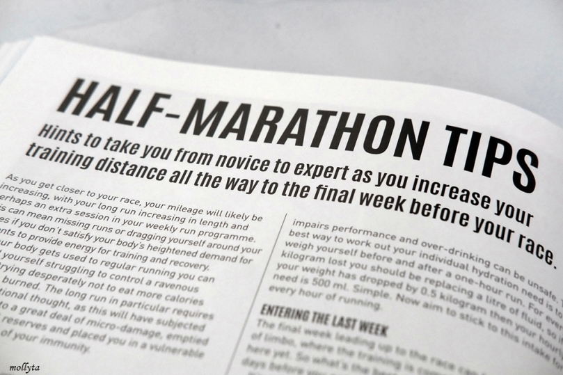Half-Marathon tips