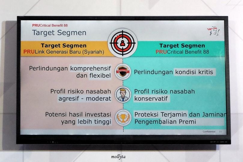 Target Segmen PRUCritical Benefit 88