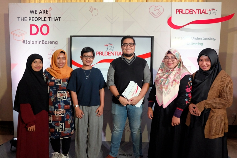 Blogger Medan di event Prudential Indonesia