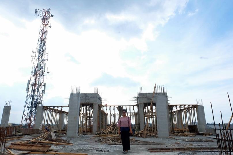 Pembangunan rooftop Pasar Tikung Medan