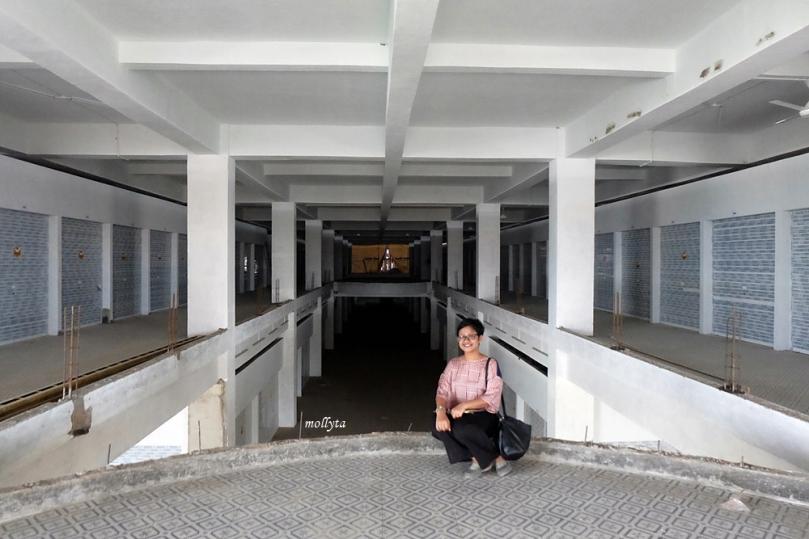 Melihat proyek Pasar Tikung Medan