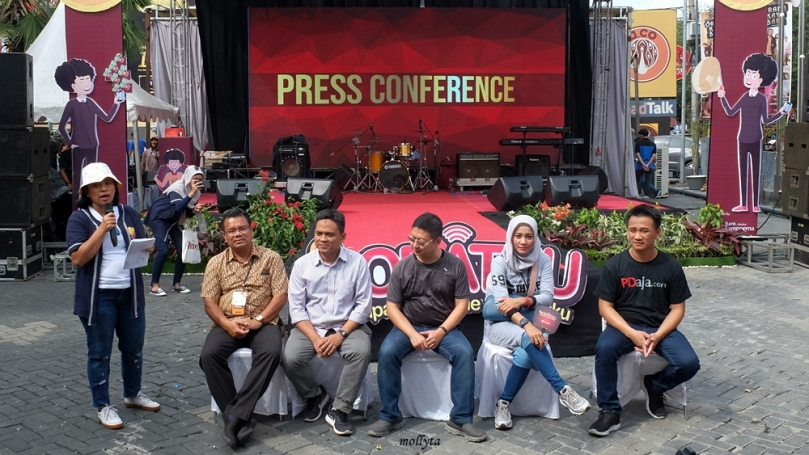 Press conference acara SOBATKU Medan