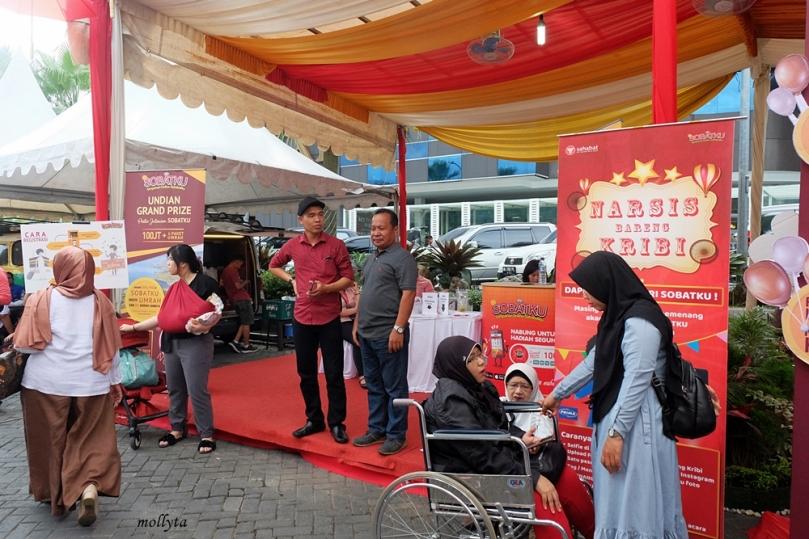 Booth SOBATKU di Ringroad Citywalks Medan