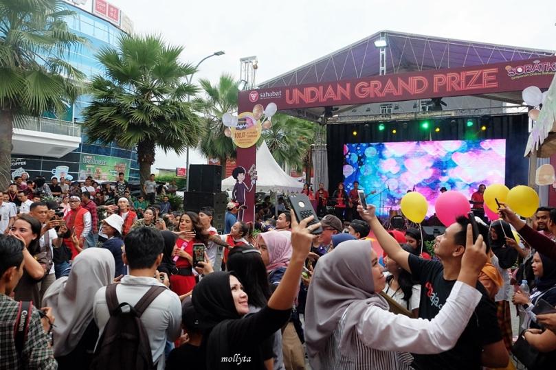 Acara penarikan undian Grand Prize SOBATKU Medan