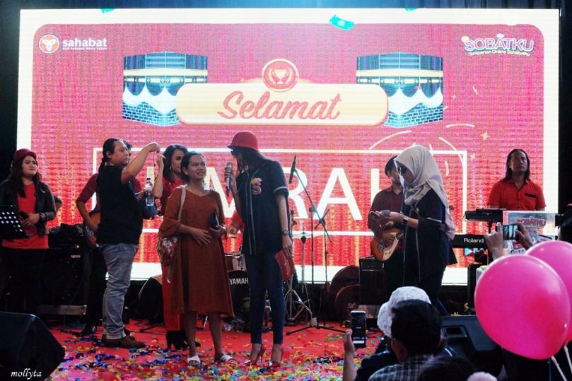 Pemenang hadiah paket umrah SOBATKU Medan