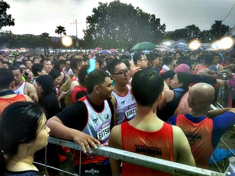 Suasana Penang Bridge International Marathon 2018