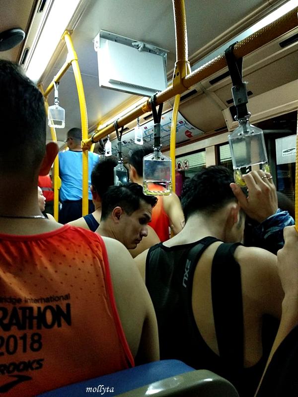 Shuttle bus untuk Penang Bridge International Marathon 2018