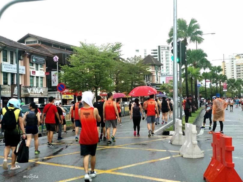 Usai acara Penang Bridge International Marathon 2018