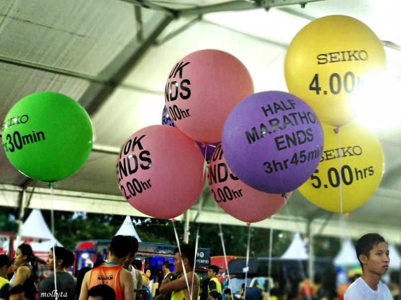 Balon hiasan Penang Bridge International Marathon 2018