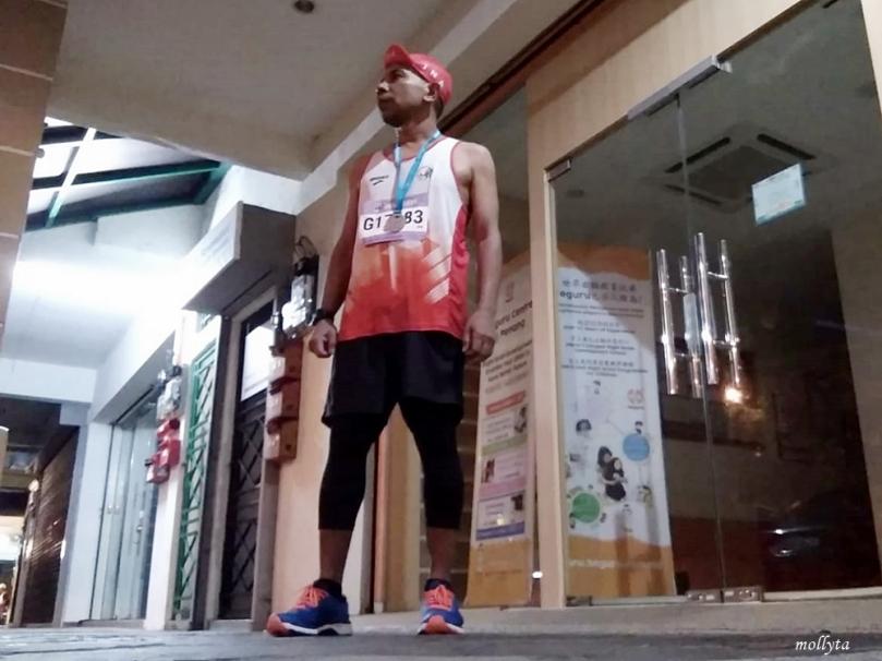 Armansyah ikut event Penang Bridge International Marathon 2018
