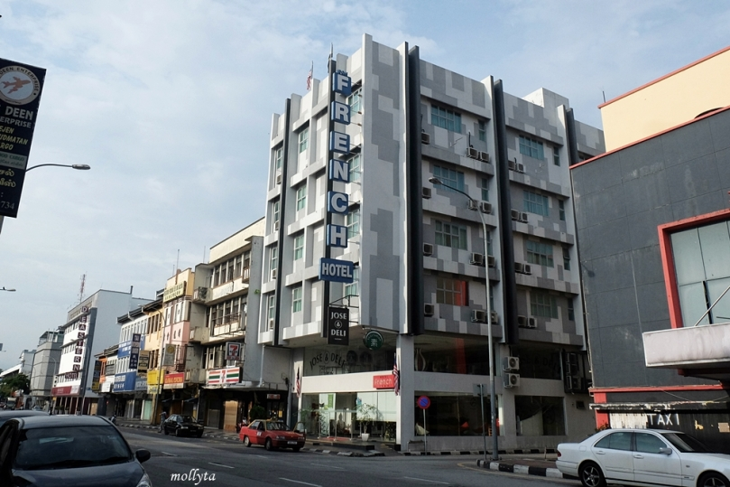 French Hotel Ipoh lokasi strategis