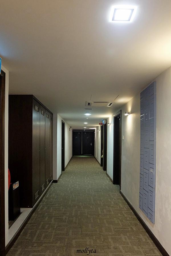 Lorong kamar French Hotel Ipoh