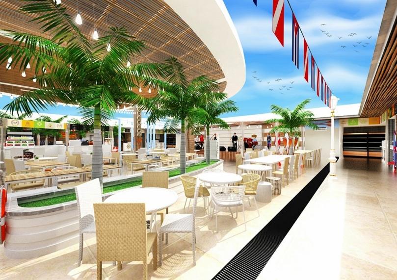 Cabana Food Market Pasar Tikung Medan