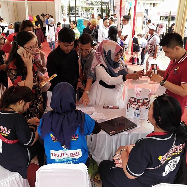 Suasana acara SOBATKU di Medan