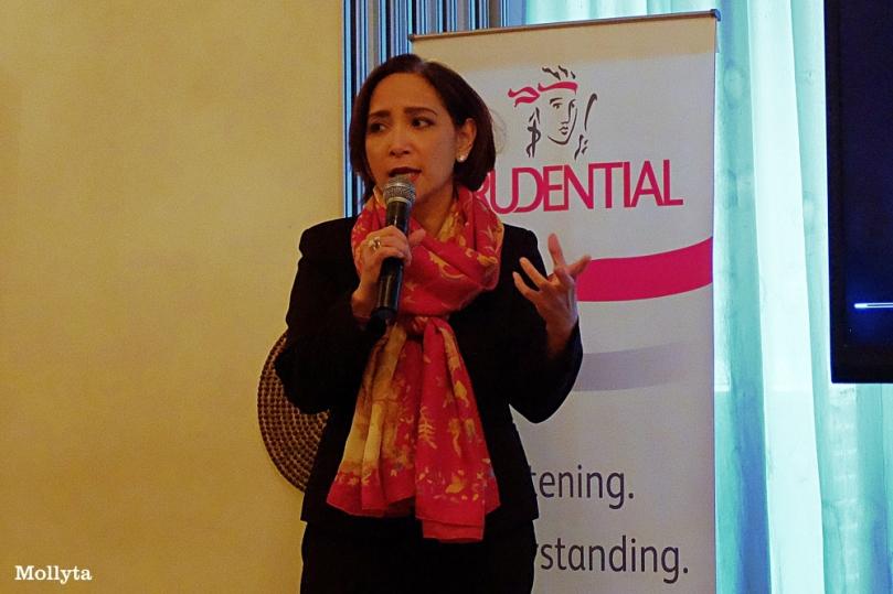 Nini Sumohandoyo dari Prudential Indonesia