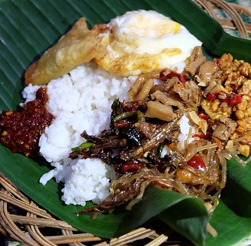 Nasi langgi Pak Man @kulineryogya