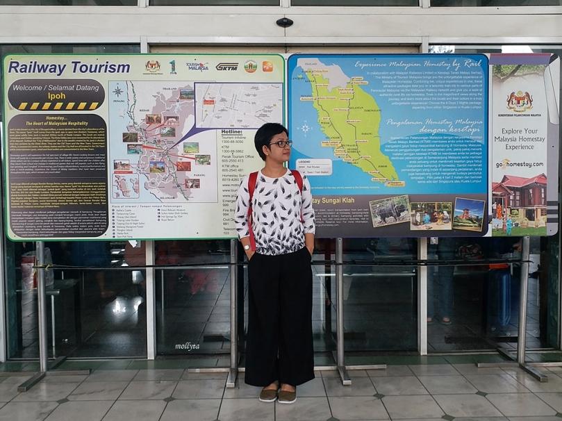 Mampir ke Ipoh Railway Station