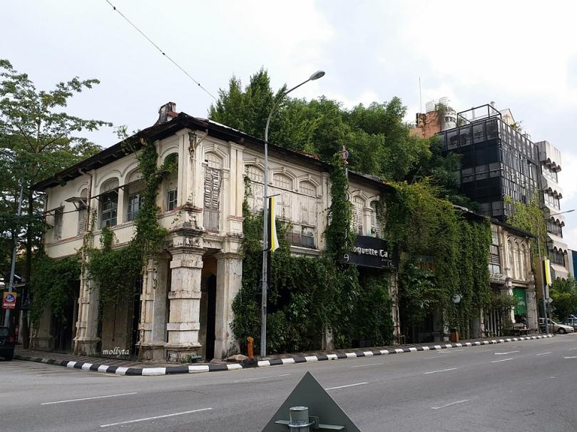 Kota tua Ipoh di Malaysia