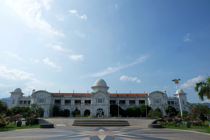 Bangunan unik Ipoh railway Station