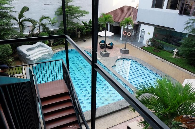 Pool di Radisson Medan