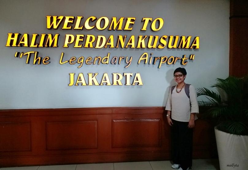Di Bandara Halim Perdanakusuma Jakarta