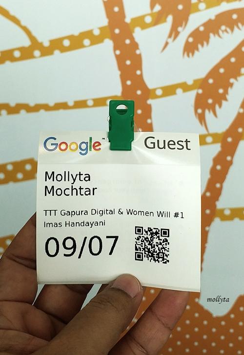 Tanda pengenal di Google Indonesia