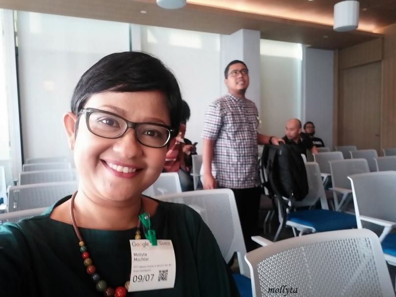 Di ruang Balai Kota Google Indonesia