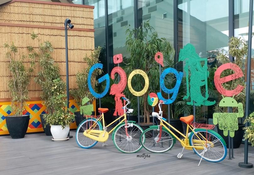 Spot cantik di kantor Google Indonesia