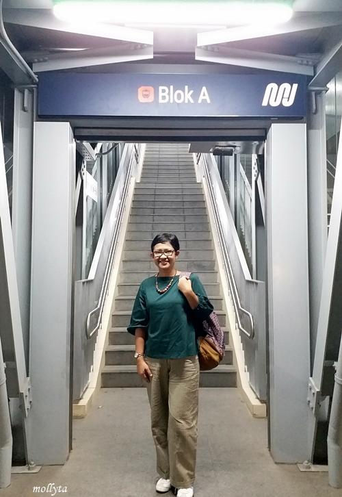 MRT Blok A Jakarta