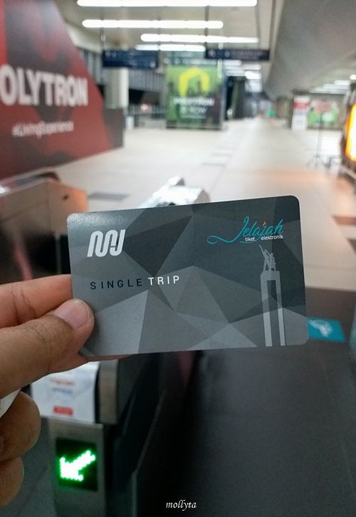 Single trip MRT Jakarta