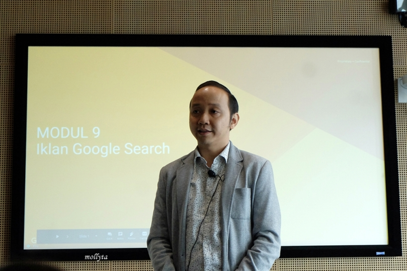 Andy Santoso di Google Indonesia