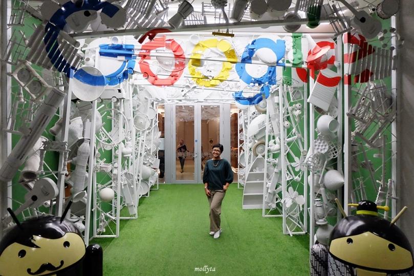 Ada di kantor Google Indonesia