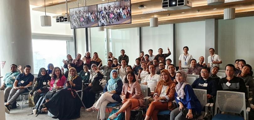 Peserta pelatihan Womenwill dan Gapura Digital